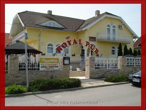 Royal Villa, Balatonfüred