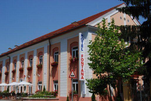 Hotel Fontana, Nagyatád